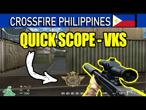 Crossfire PH 🇵🇭 : VKS (Better than AWM, R93 T2 and TRG?)