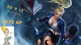 Wanted that back door so bad | Insane janna mid / LOL ITA