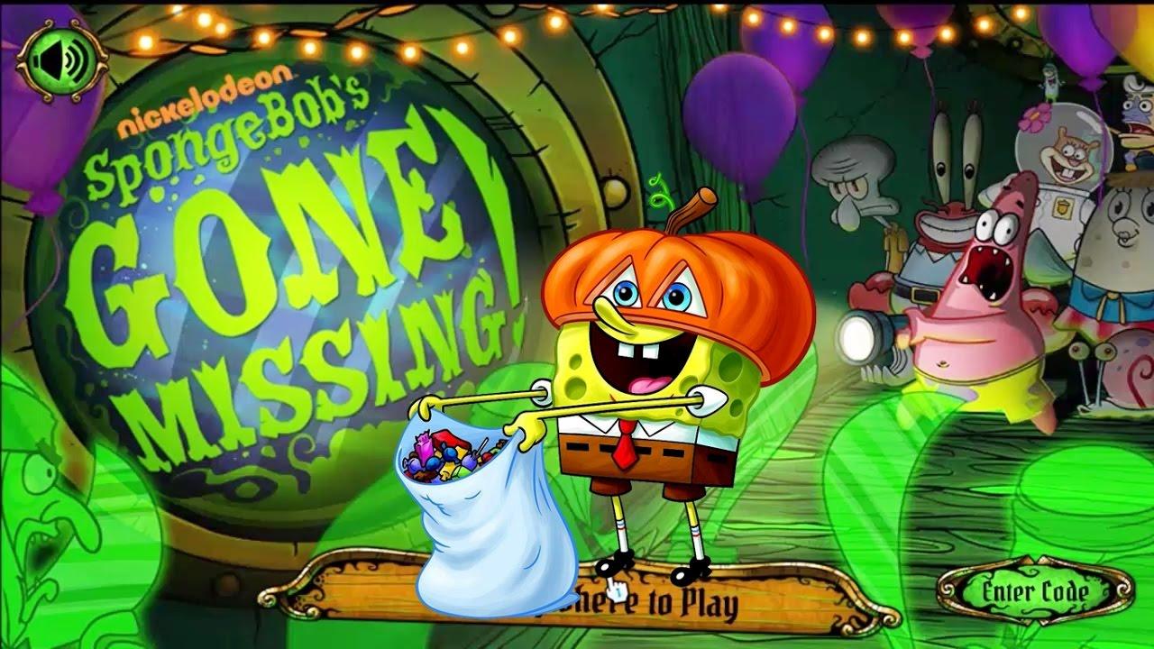 Bob Esponja ha desaparecido  Gameplay de Halloween  SpongeBobs