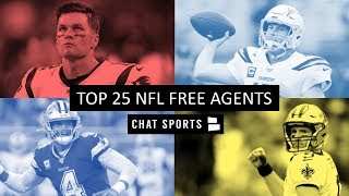 Top 25 NFL Free Agents In 2020