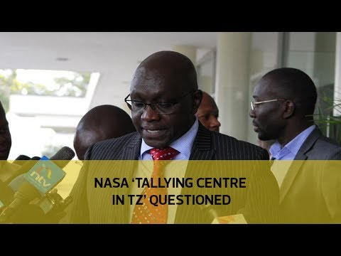 NASA 'Tally centre in TZ' questioned