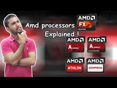 How to choose AMD processors Explained ! 2016 (Hindi)