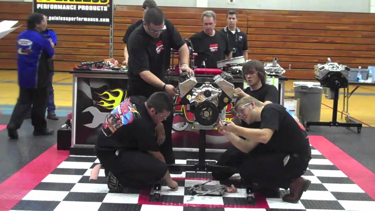 Hot Rodders of Tomorrow Engine Challenge Division 4 Champs - YouTube