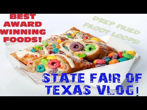The Ultimate State Fair of TEXAS Food Guide! Dallas Things To Do!