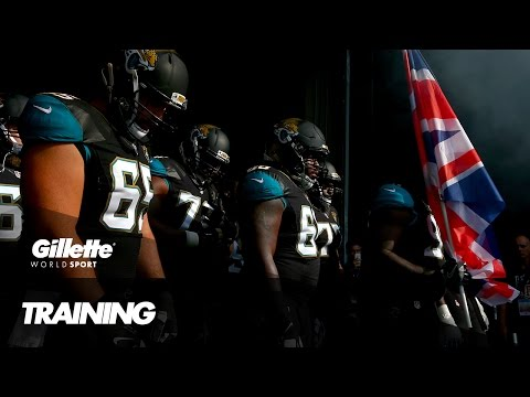 Training in England with Jacksonville Jaguars   Gillette World Sport