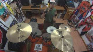 Kenny Loggins -  Meet Me Half Way -  drum cover