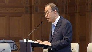"""بان كي مون يدعو أعضاء مجلس الأمن إلى توحيد كلمتهم من """"أجل السلام"""" بشأن سوريا"""