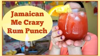 Jamaican Me Crazy Rum Punch | Pinterest Drink #99 | MamaKatTV