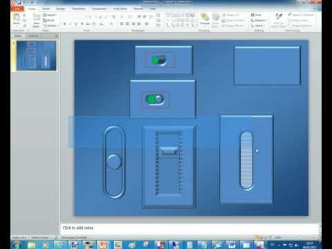 Building HSTouch graphics with Powerpoint and PaintNET Part 4