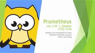 Prometheus Goethe Wikivisually