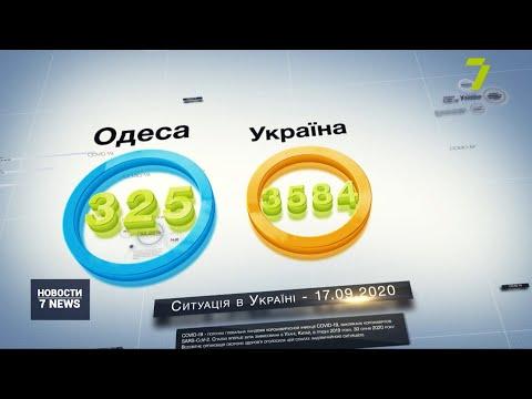 Новости 7 канал Одесса: В Одесской области 325 новых случаев заражения COVID-19