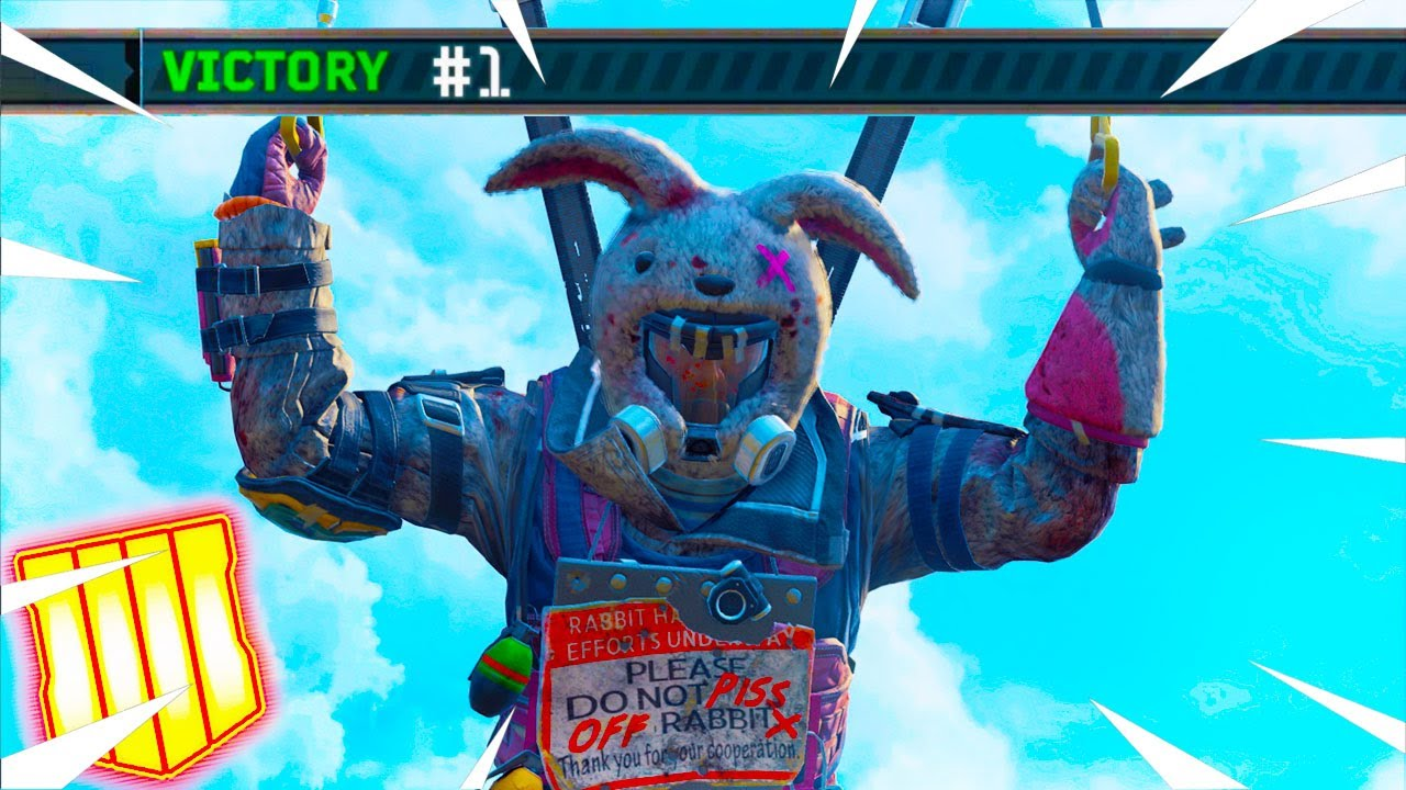 New Bunny Outfit In Blackout The Carat Thief Robber Theme Outfit Bo4 Update Youtube