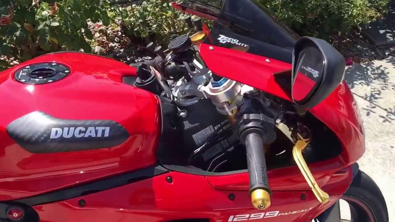 Ducati Panigale 1299s Update More Carbon Fiber Akrapovic