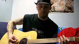 Just killing time Black Label Society BLS Acoustic cover