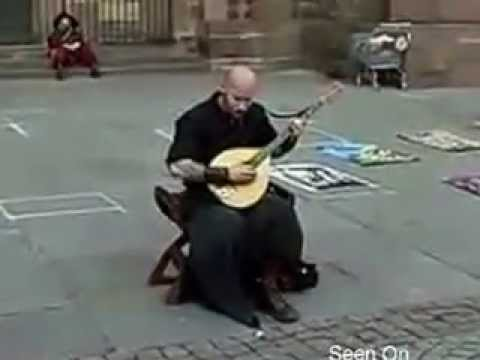 bald tattooed guy sings like an angel (smooth motion, less jitter)