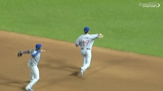 Castro mimics Bryant as he makes the play