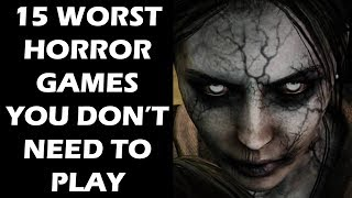 15 Worst Horror Games That Kept You Up At Night With Disappointment Instead of Fear