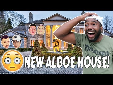 SURPRISING MY ROOMMATE WITH A NEW HOUSE! (TEAM ALBOE HOUSE TOUR)