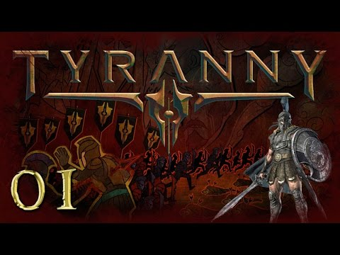 Let's Play Tyranny Gameplay Part 1 - Journey of Tykus - Introduction, Conquest Choices