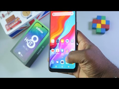 The Infinix Hot 8 - Unboxing and Review