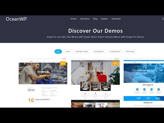 OceanWP Elementor Tutorial to  Make  a free WordPress Website with Elementor & OceanWP 2018