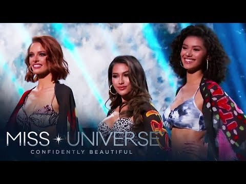 Miss Universe 2019 Top 10 Swimsuit Competition | Miss Universe 2019