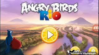 Прохождение Angry birds rio #1