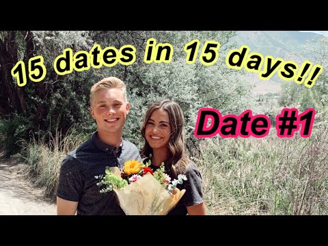 15 dates in 15 days.. DATE #1| Alyssa Mikesell
