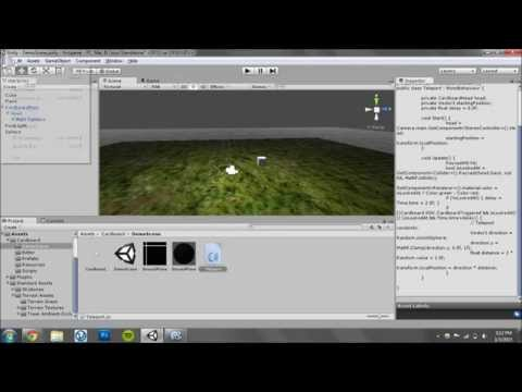 Create a Virtual Reality Game in Seven Minutes (Google Cardboard)