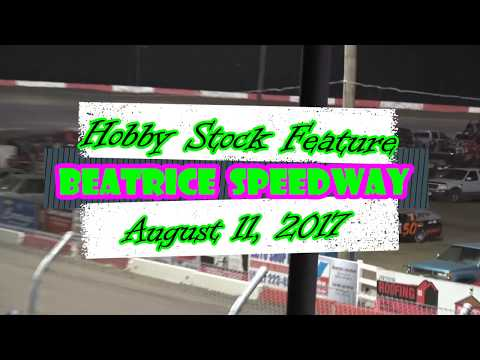 8/11/2017 Beatrice Speedway Hobby stock Feature