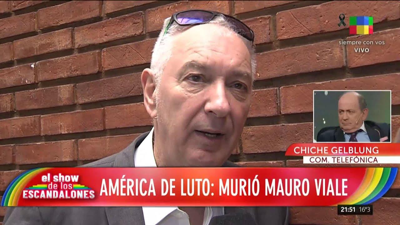 """Chiche Gelblung recuerda a Mauro Viale: """"Fue el mejor productor periodístico que vi en mi vida"""""""