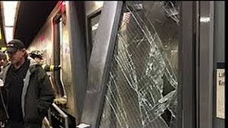 fulfilled: Another NYC TRAIN TRAGEDY 100+ Inj 1.4.16 See DESCRIPTION