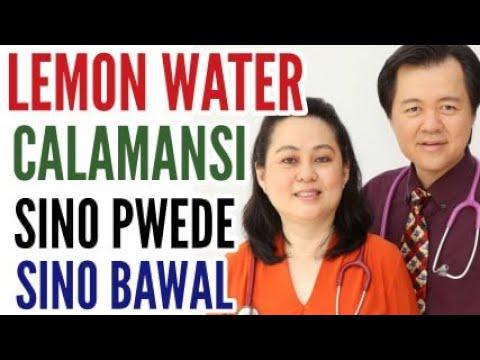 Lemon Water at Calamansi : Sino Pwede at Sino Bawal ? Payo ni Doc Willie Ong #577b (Blog Re-Posted)