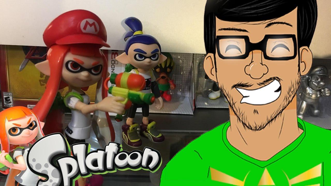 Inkling Girl World Of Nintendo Toys Review Splatoon