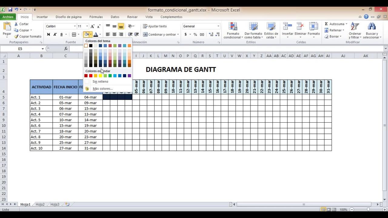 Excel para ejecutivos ejemplo diagrama de gantt youtube excel para ejecutivos ejemplo diagrama de gantt ccuart Image collections