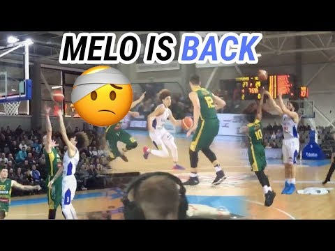 LaMelo Ball Is BACK From Injury! Gelo Drops LIGHT 28 Points In Lithuania! HIGHLIGHTS 🔥