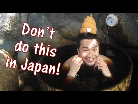 Things you CANNOT do at Japanese Onsen (Rules for the public bath in Japan)