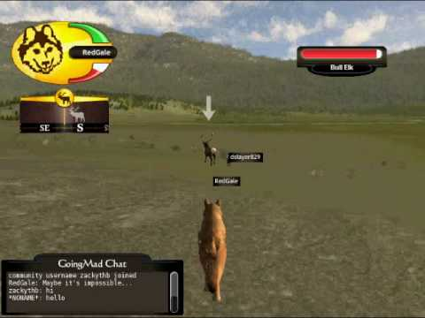 WOLFQUEST Multiplayer: Doggie and Gang vs Bull Elk - YouTube - photo#40