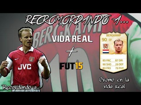 RECORDANDO A DENNIS BERGKAMP + REVIEW FIFA 15