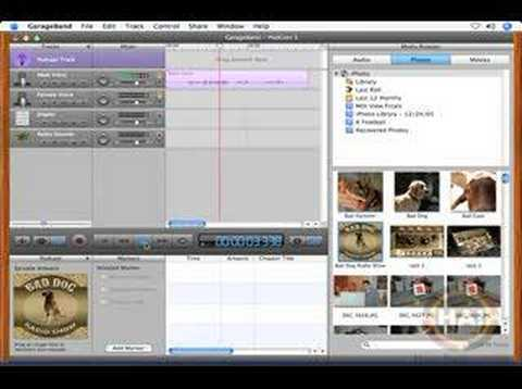 how to add consecutive tracks in garageband