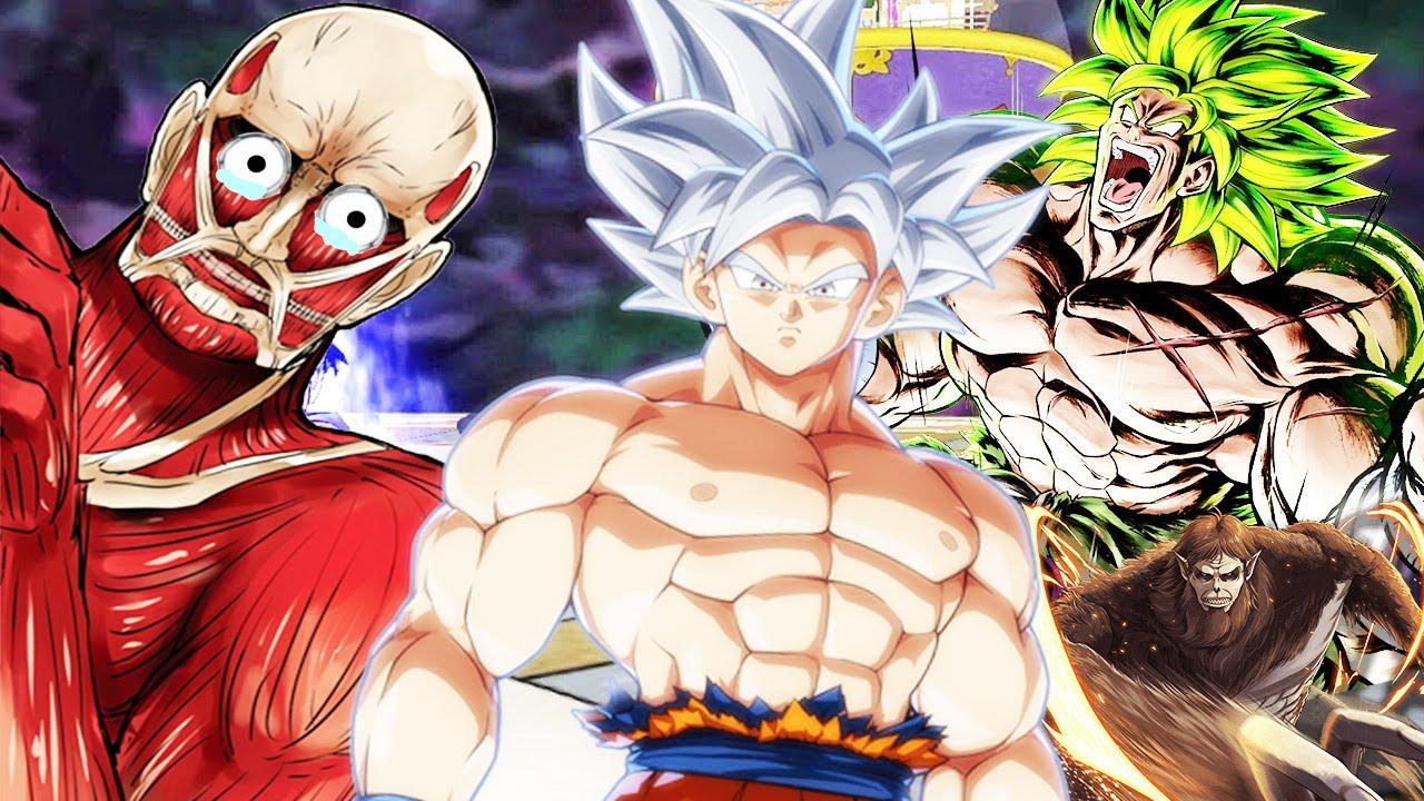 Titan Đại Hình Khổng Lồ Bỏ Mạng Khi Dám Khiêu Chiến Goku Bản Năng Vô Cực - Dragon Ball XV2 Tập 163