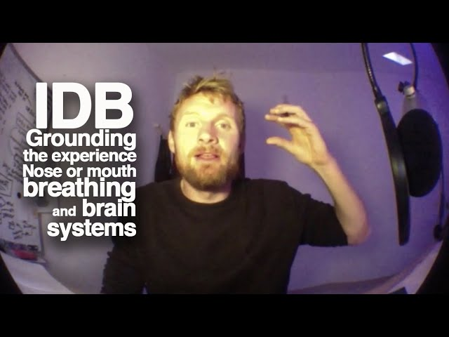 IDB, grounding the experience, nose or mouth breathing and brain systems.