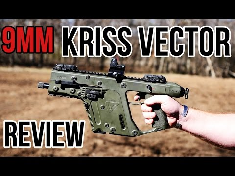 KRISS Vector 9mm Carbine and Pistol Review