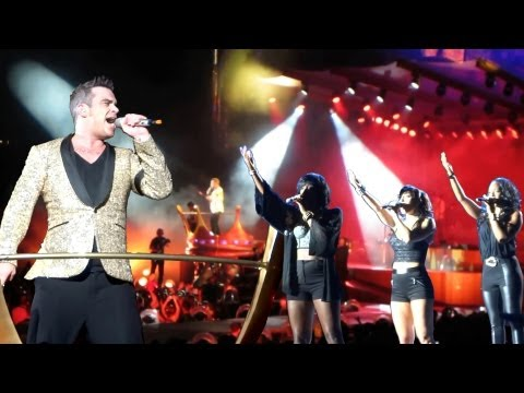 Robbie Williams - Gospel - Best Of Hannover Videos 2013 - MultiCam - TOP Sound - HD 1080p