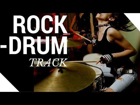 Rock Drum Track 93 BPM ★ Full Song Backing Track ★