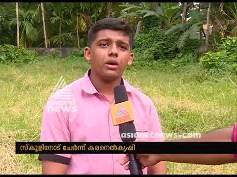 Kuttanad Thalavadi VHSE students success story of Organic Farming