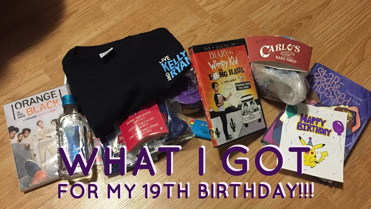 What to do for my 19th birthday