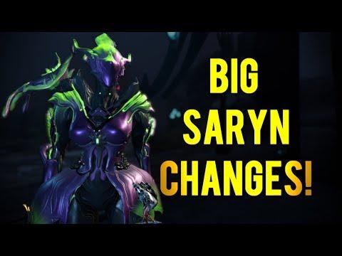 Warframe: Big Saryn Changes | Buff or Nerf? thumbnail
