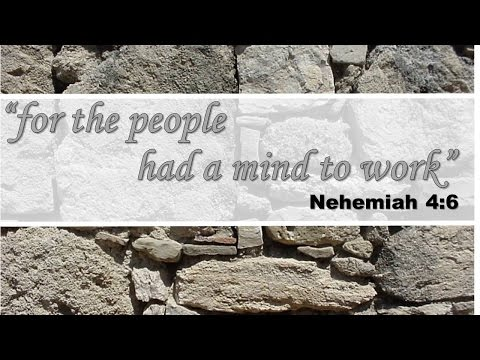 For the People Had a Mind To Work