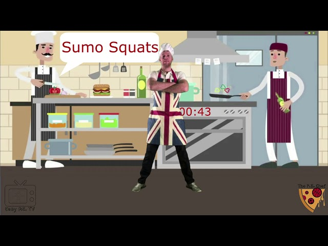 PE Chef S3E1 One Minute Workout